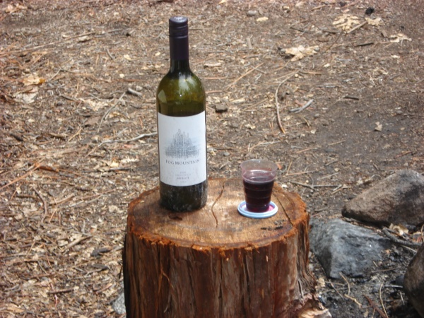 Fog Mountain-The wine for camping!